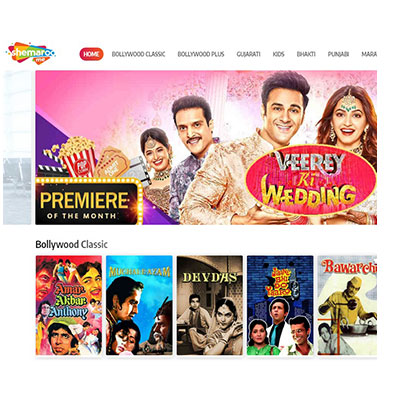 Shemaroo�s video streaming service launched in the US