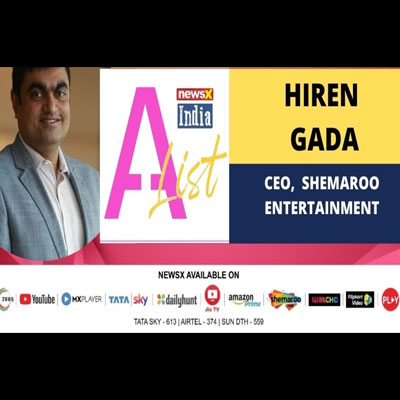 Hiren Gada, CEO of Shemaroo Entertainment discusses the changing nature of streaming services, digital content due to pandemic