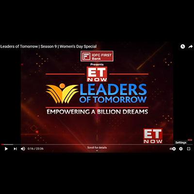Kranti Gada on ET�s leaders of tomorrow