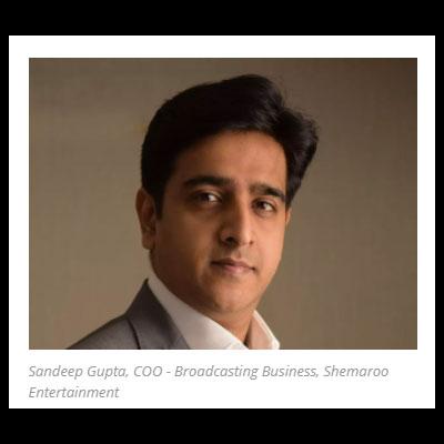 Shemaroo ropes in Sandeep Gupta as COO to head broadcast business